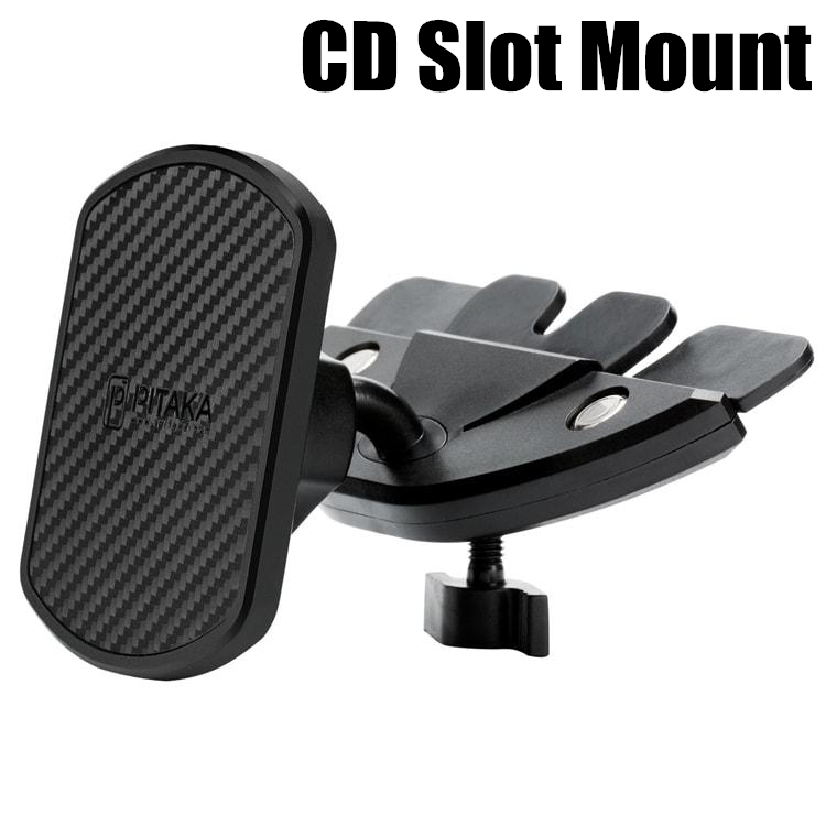 pitaka universal magnetic air vent cd slot suction car mount phone holder dock ebay. Black Bedroom Furniture Sets. Home Design Ideas